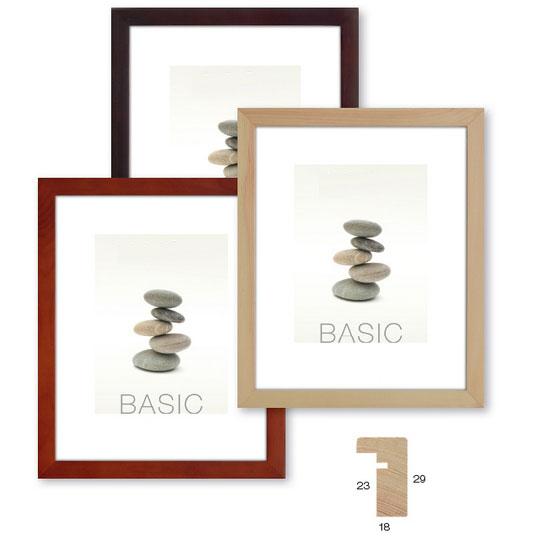 Cornice basic in legno 30x40 fotoora stampa foto napoli for Cornice foto legno