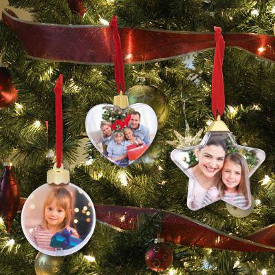 Pallina Natale Con Foto Digitale.Palline Di Natale